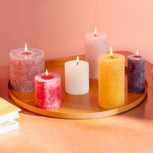 Eco Shine rustieke kaarsen